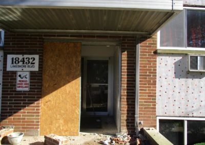 Mendco Construction Co. - Board up vehicle damage