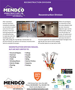 Mendco Construction - Reconstruction Division