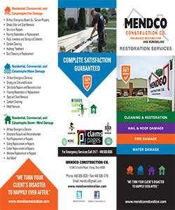 Mendco Construction - Trifold