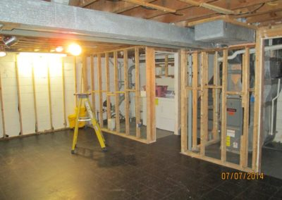 Mendco Construction Co. - Water Damage, entire gut